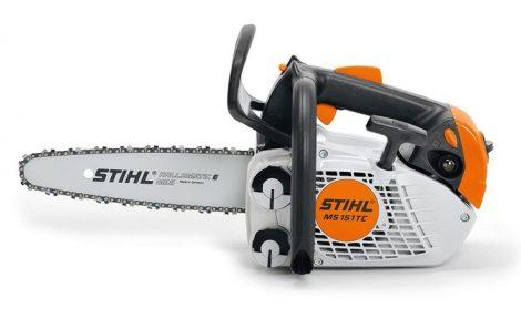 STIHL MS 151 TC-E - Extra könnyű fagondozó motorfűrész - raktárról azonnal!