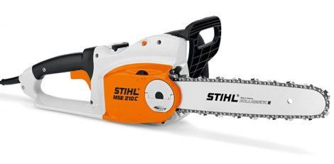 STIHL MSE 210 C-B Erőteljes elektromos fűrész gyorsláncfeszítéssel (B)