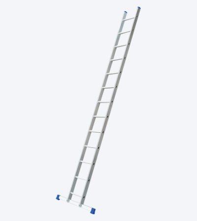 Támasztó alu létra 1x9 - 2,472 méter