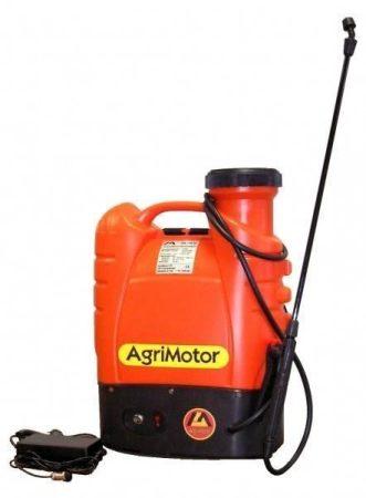 Agrimotor SX-15D akkumlátoros permetező + Agrikén 0,25kg lemosó