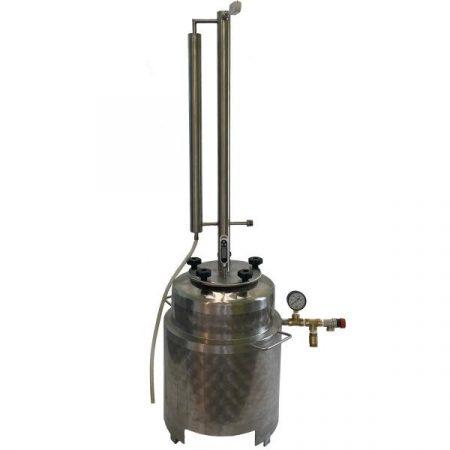 Pálinkafőző 35 L-es, egyutas, LIGHT aromatoronnyal