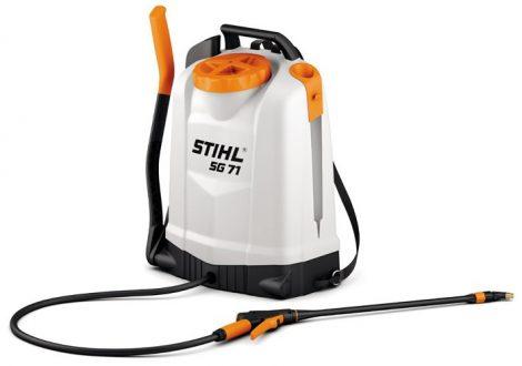 STIHL SG 71 - Háton hordozható kézi permetezőgép professzionális használatra