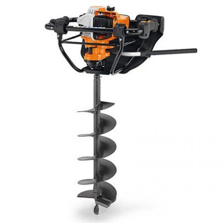 STIHL BT 131 (fúróeszköz nélkül) Professzionális egyemberes talajfúrógép 4-MIX® motorra
