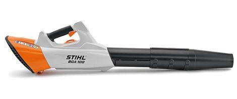 STIHL BGA 100 (akku, töltő és kábel nélkül) Jelentősen erősebb és csendesebb