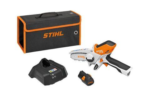 STIHL GTA 26 fogantyús akkumulátoros ágvágó (AS2 típusú akkumulátorral és AL 1 típusú töltővel szettben) - raktárról