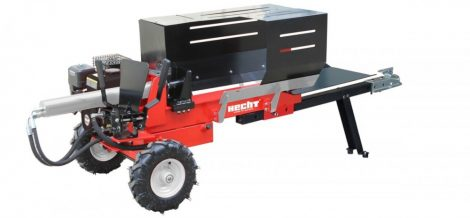 HECHT 6212 benzinmotoros, vontatható rönkhasító 10 T - ajándék beüzemeléssel!